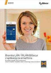 Zobacz Bramka LAN / WLAN BiSecur z aplikacją na smartfona HORMAN