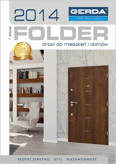 Folder drzwi 2014
