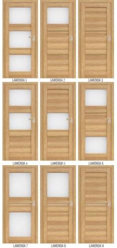 Drzwi ERKADO Lawenda