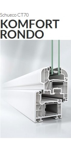 Okna Schüco CT70 komfort rondo