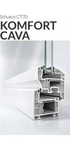 Okna Schuco CT70 komfort cava