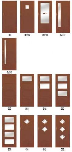 Drzwi Pol-Skone Deco, Deco Vario