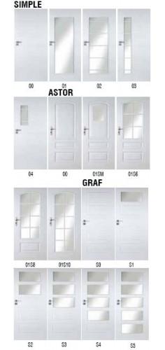 Drzwi Pol-Skone Simple, Astor, Graf
