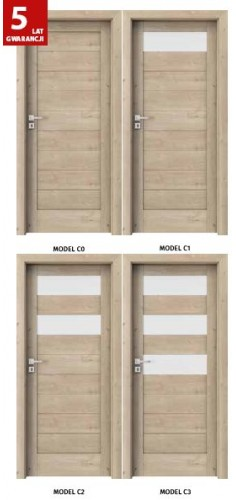 Drzwi Verte Kolekcja C