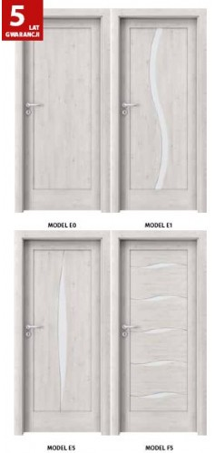 Drzwi Verte Kolekcja E, F
