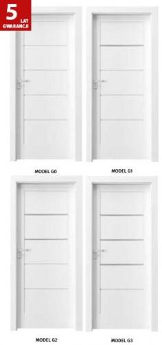 Drzwi Verte Kolekcja G