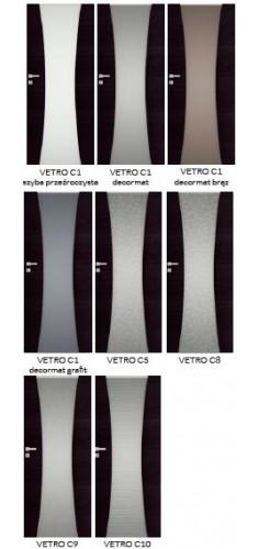 Drzwi DRE Vetro C