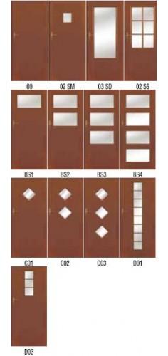 Drzwi Pol-Skone Deco Lux, Lux Soft, Lux Soft Vario