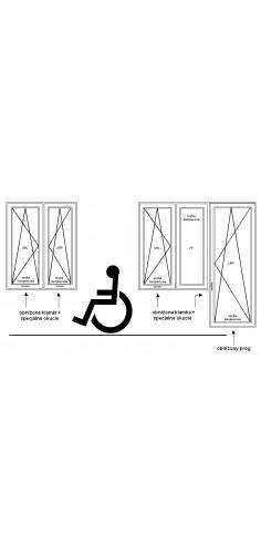 Okna PCV dla niepełnosprawnych