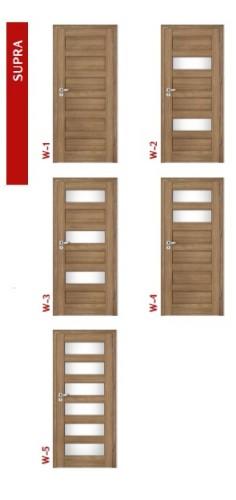 Drzwi INTENSO DOORS SUPRA
