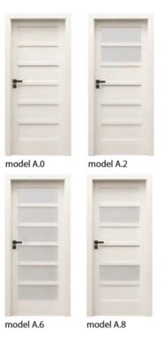 Drzwi Verte Kolekcja A