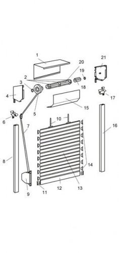 Roleta zewnętrzna - Standard