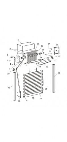 Roleta zewnętrzna - Intermo z moskitierą