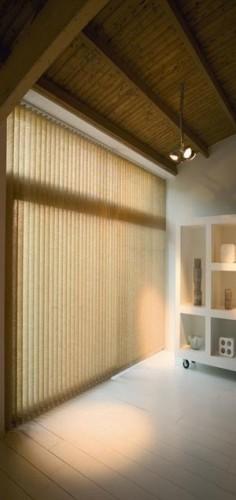 Żaluzje pionowe tekstylne