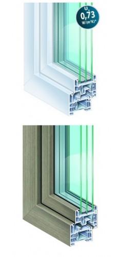 Okna Kommerling 76mm MD