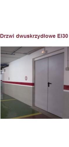 Drzwi dwuskrzydłowe przeciwpożarowe Padilla