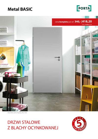 Zobacz katalog drzwi PORTA stalowe z blachy ocynkowanej