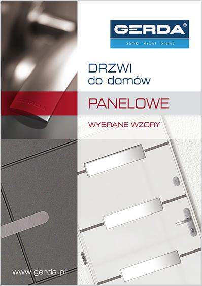 Folder drzwi do domów Panelowe, wybrane wzory 2014