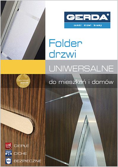 Folder drzwi uniwersalne